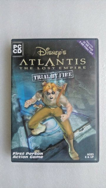Disney's Atlantis The Lost Empire  Trial By Fire (PC Windows 2000)